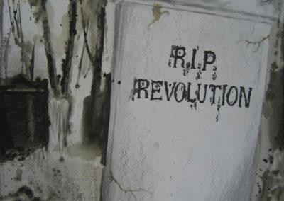 artwork tombstone rise in piece revolution